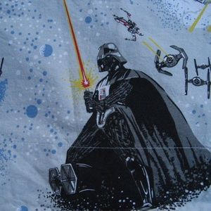 Pottery Barn Star Wars Darth Vader Twin Flat Sheet